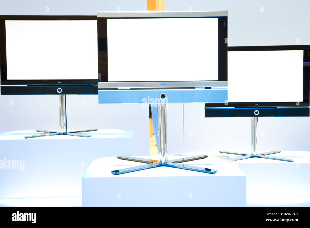High quality LCD TV's - Stock Image