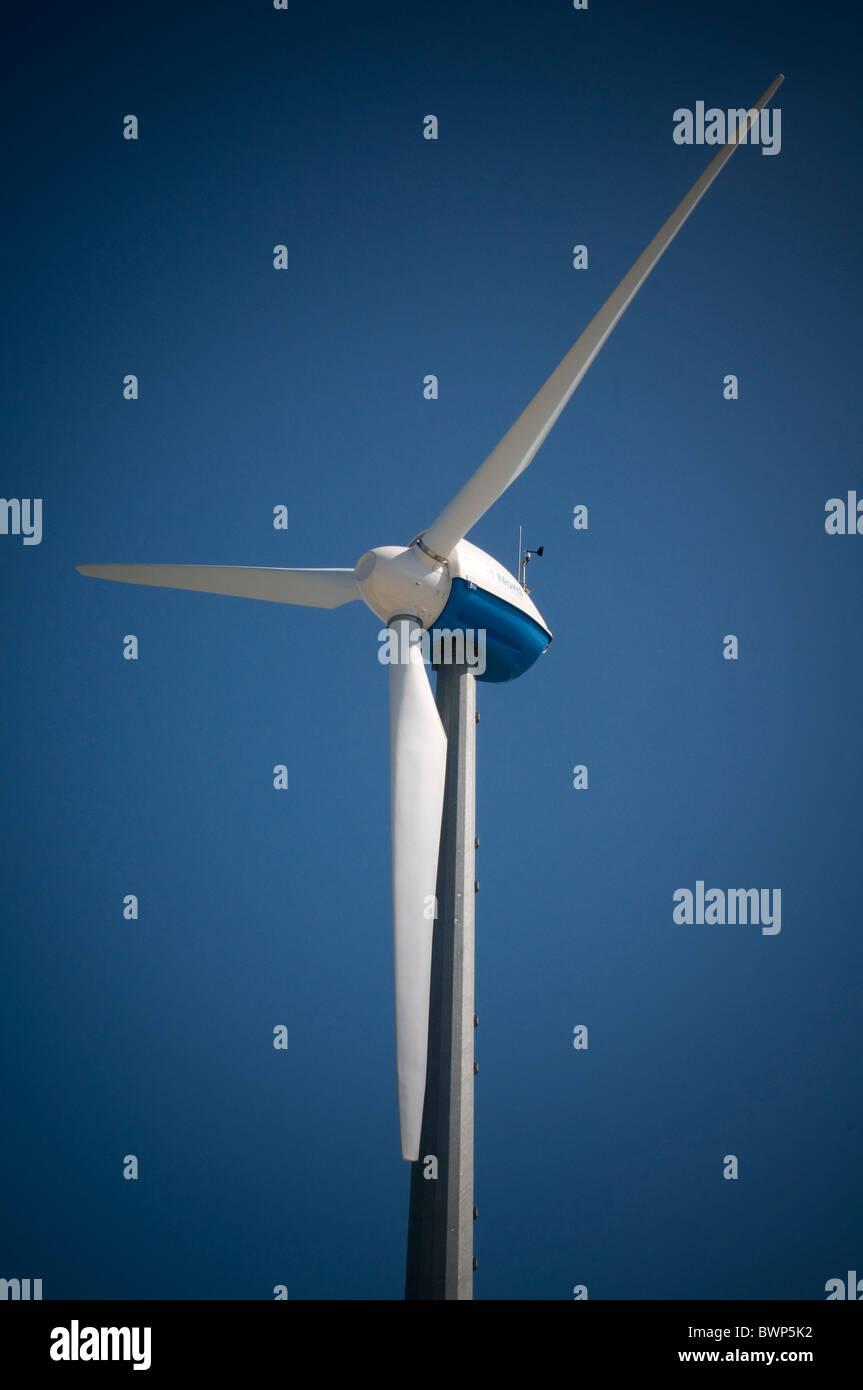 renewables renewable energy source sources wind power turbine mill windmill windmills turbines windturbine windturbines - Stock Image