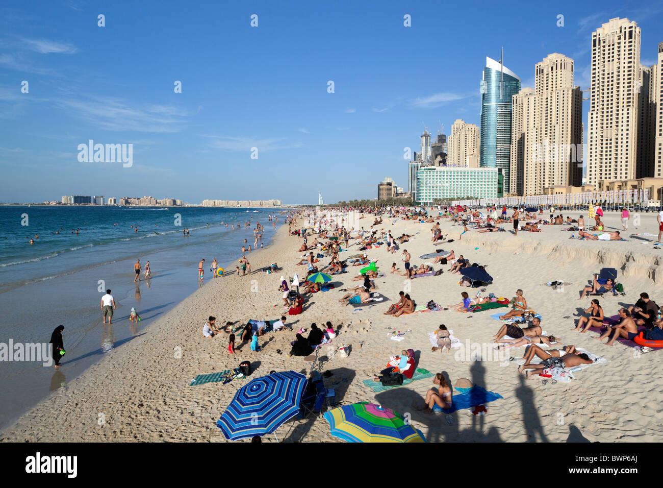Jumeirah Beach, Dubai - Stock Image