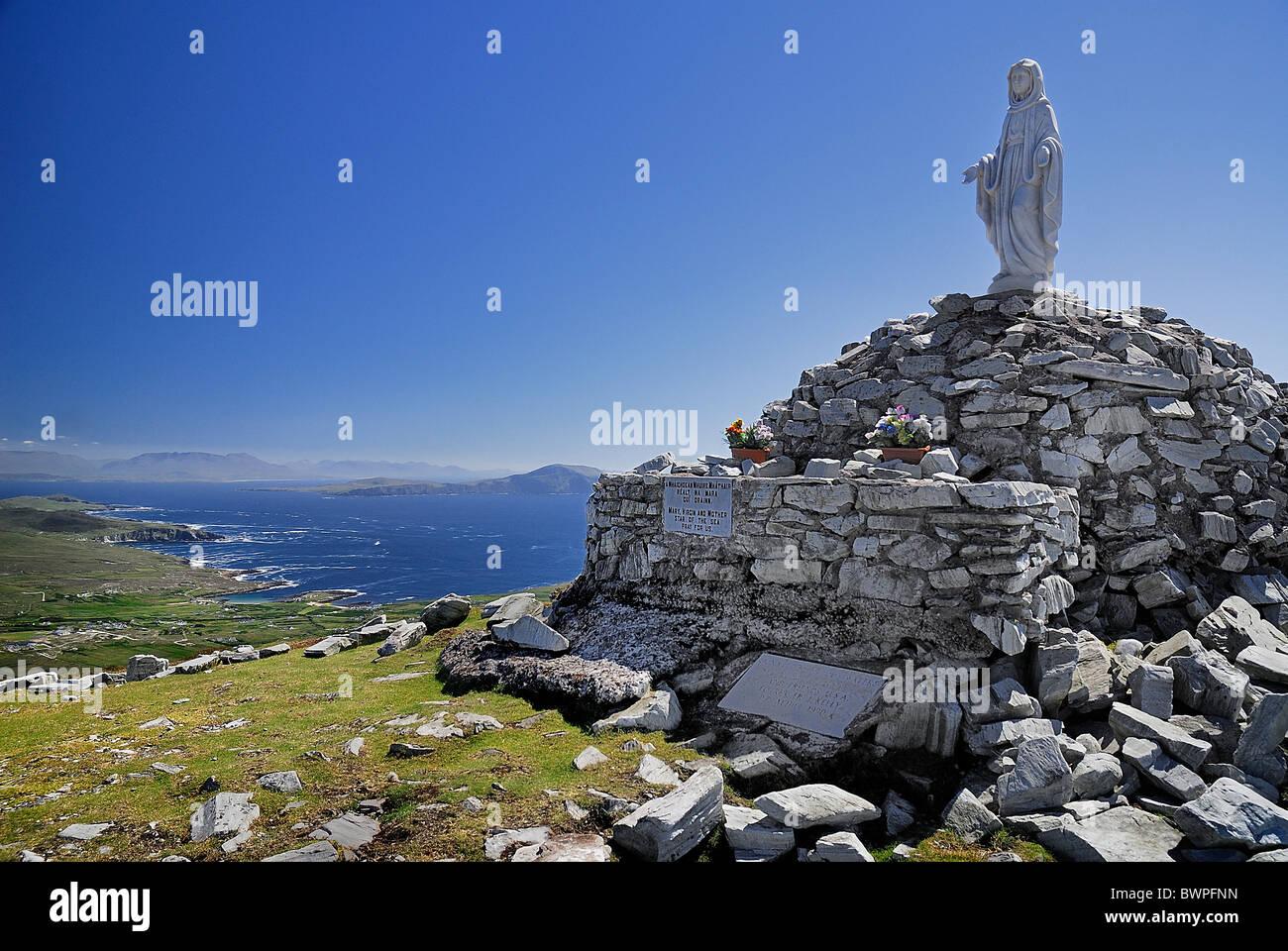 IRELAND County Mayo Achill Island - Stock Image