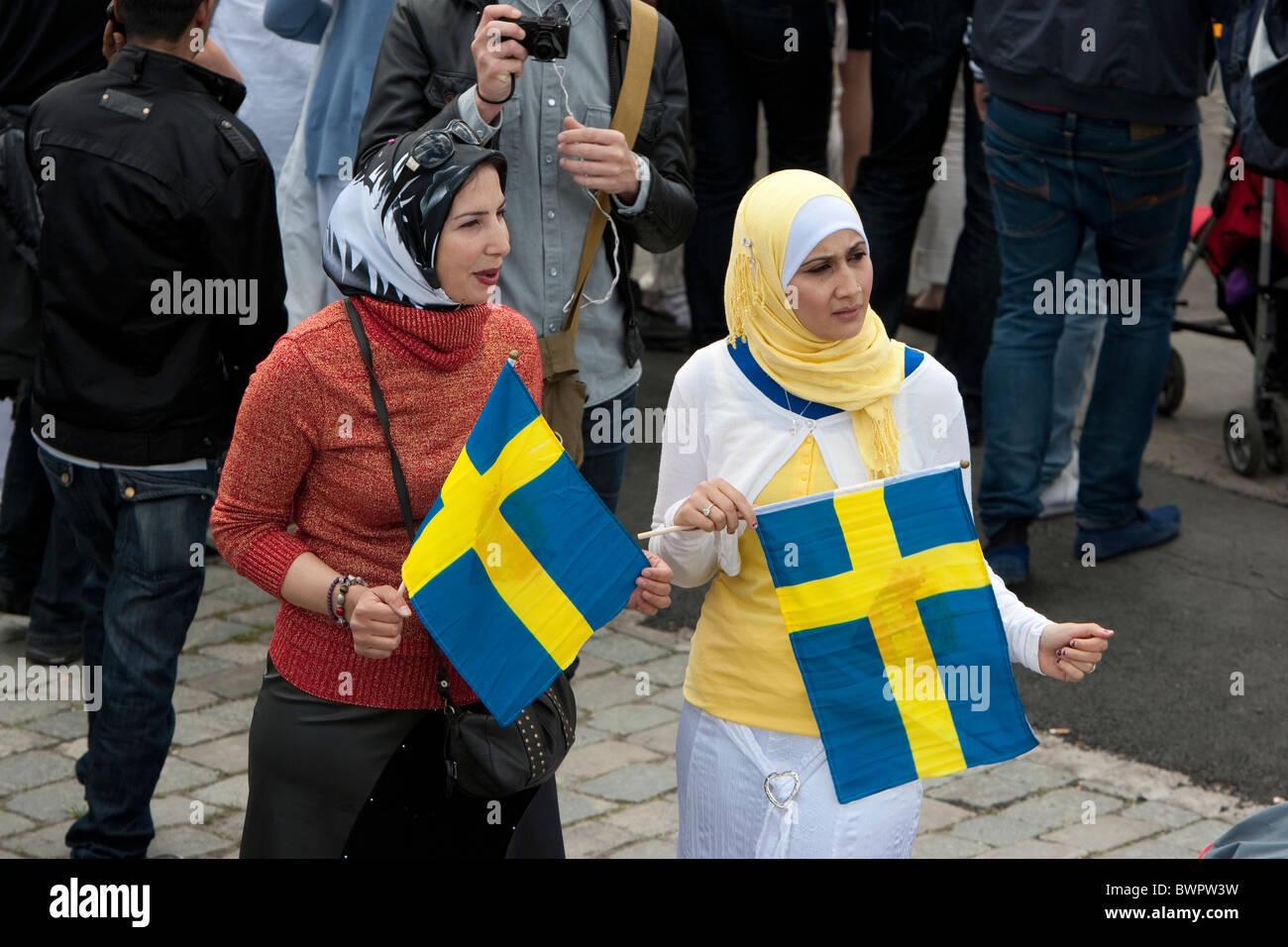 Women swedish muslim Sweden, the