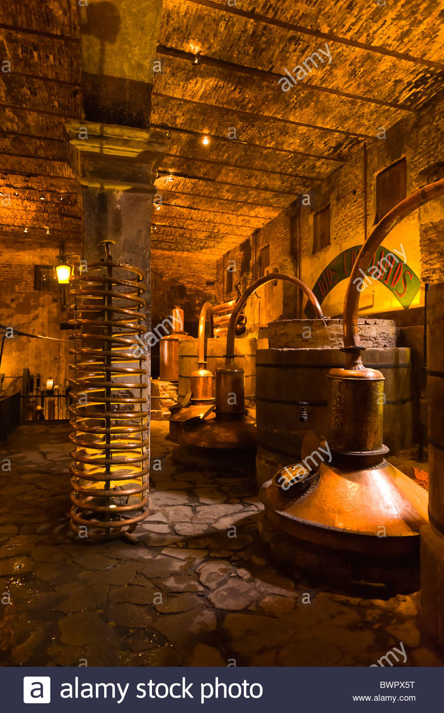 Old Factory (museum), Casa Herradura tequila distillery, town of Tequila, Jalisco, Mexico - Stock Image