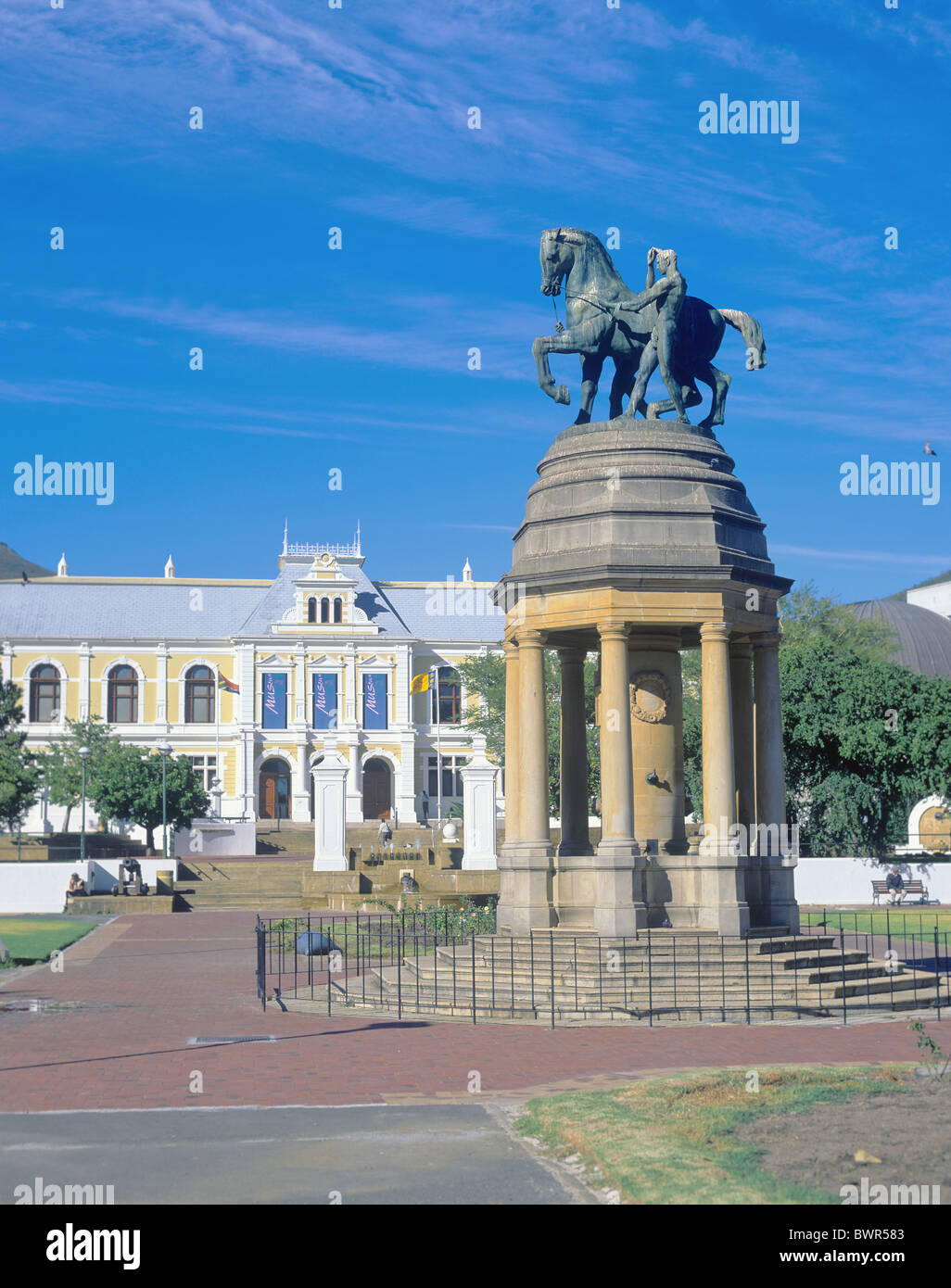 South Africa Cape Town South African Museum Museum Company Garden Dutch East Indies Company VOC African Capeto - Stock Image