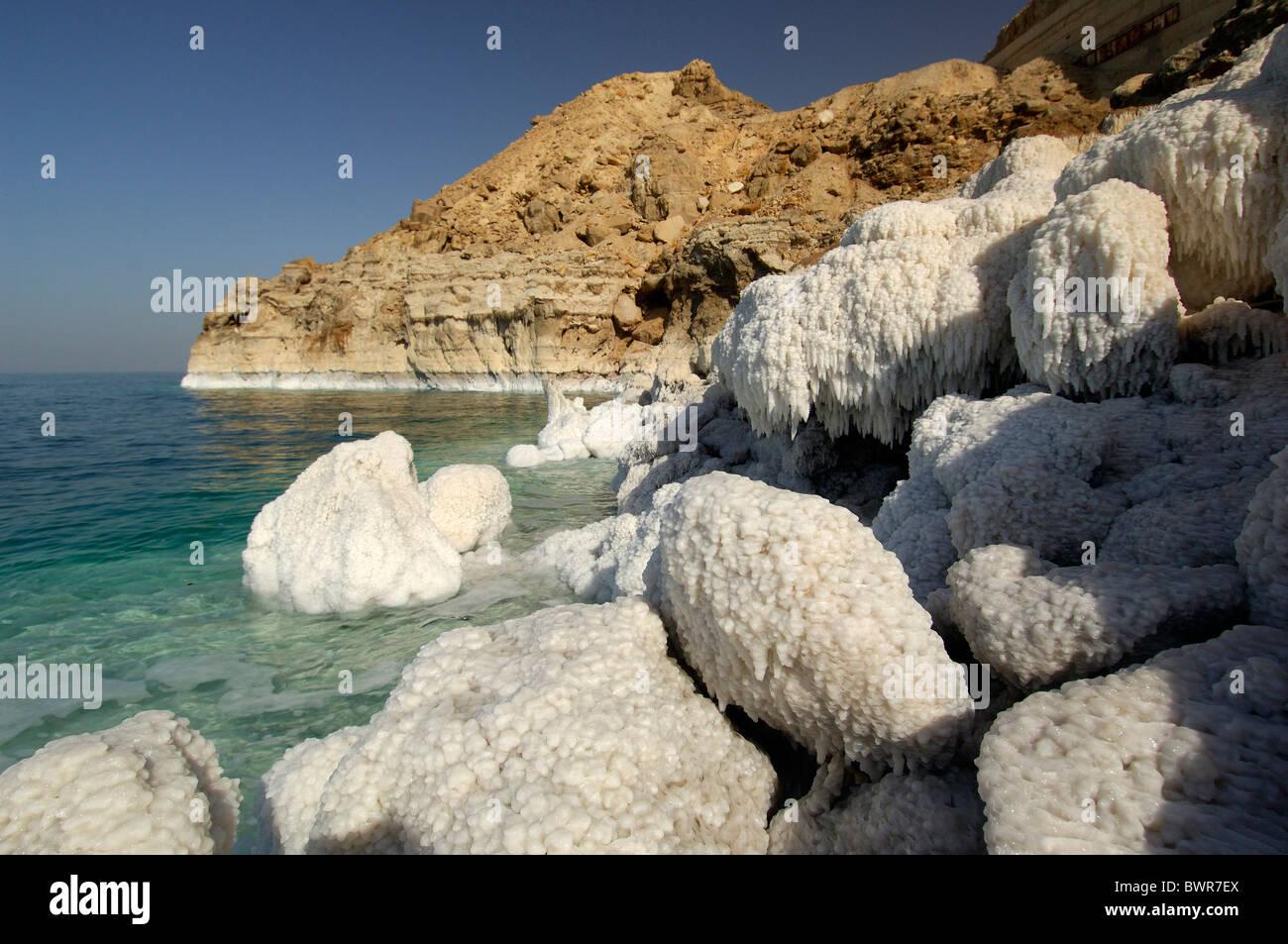 Jordan Seven Pillars of Wisdom Wadi Rum Desert Middle East landscape rock formation rocky movie Lawrence of A - Stock Image