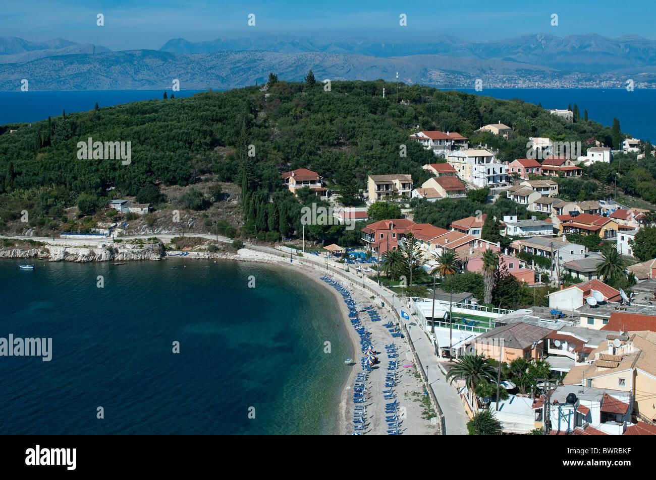 Kassiopi, Corfu, Greece - Stock Image