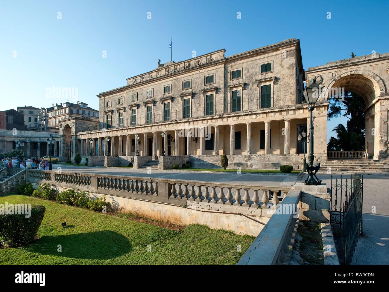 Museum of Asian Art, Corfu Town, Corfu, Greece - Stock Image