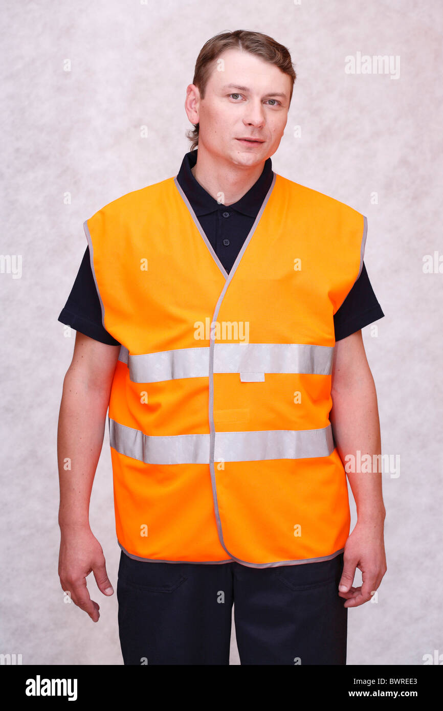 Man in work uniform