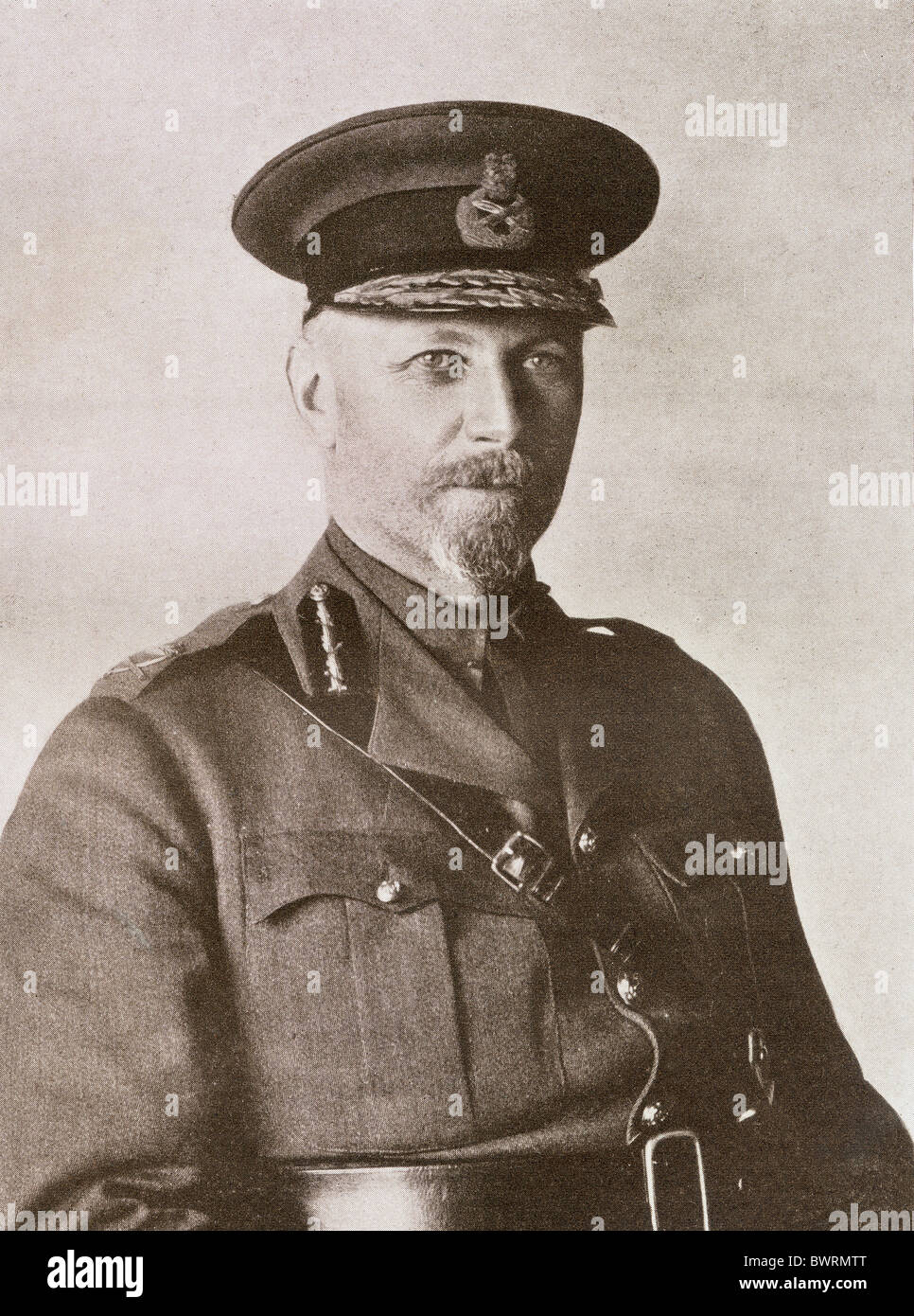 Jan Christiaan Smuts 1870 - 1950. South African statesman and soldier. - Stock Image