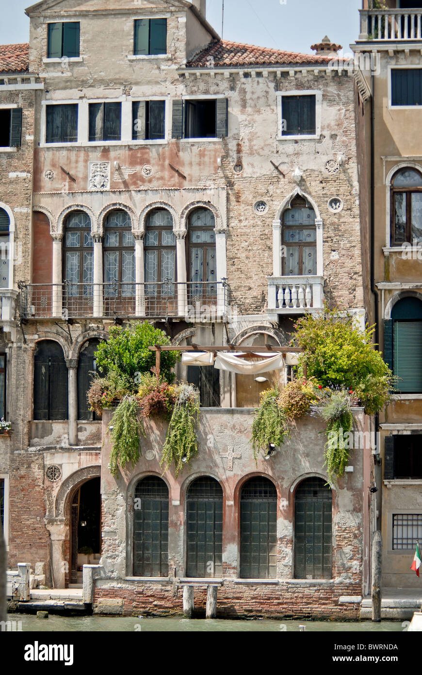 Merchants house on Grand Canal - Stock Image