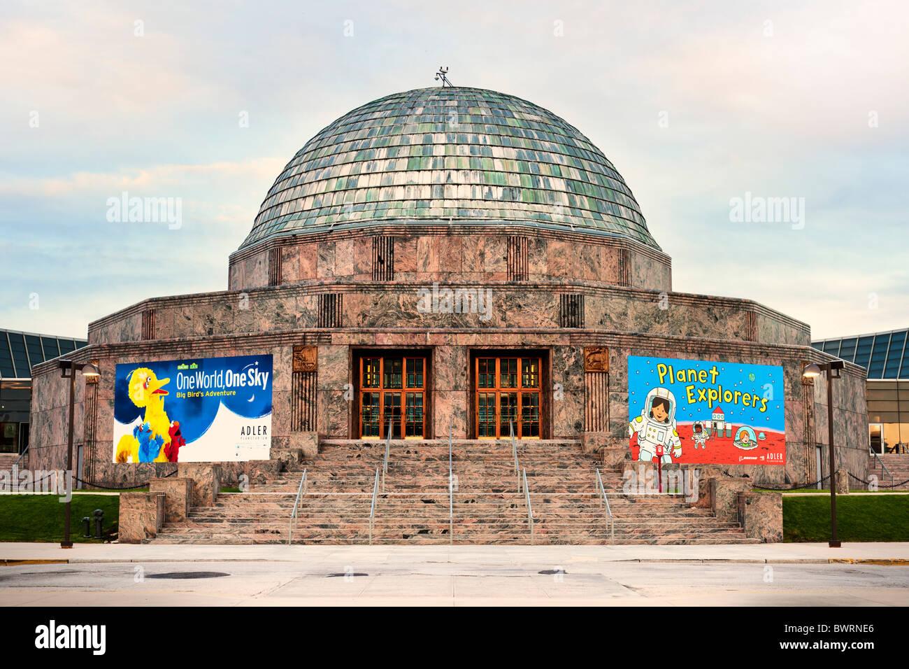 adler planetarium chicago museum stock photos adler planetarium