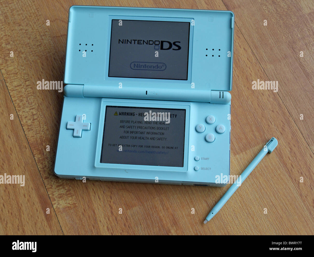 nintendo ds lite handheld games console stock photo 33103052 alamy