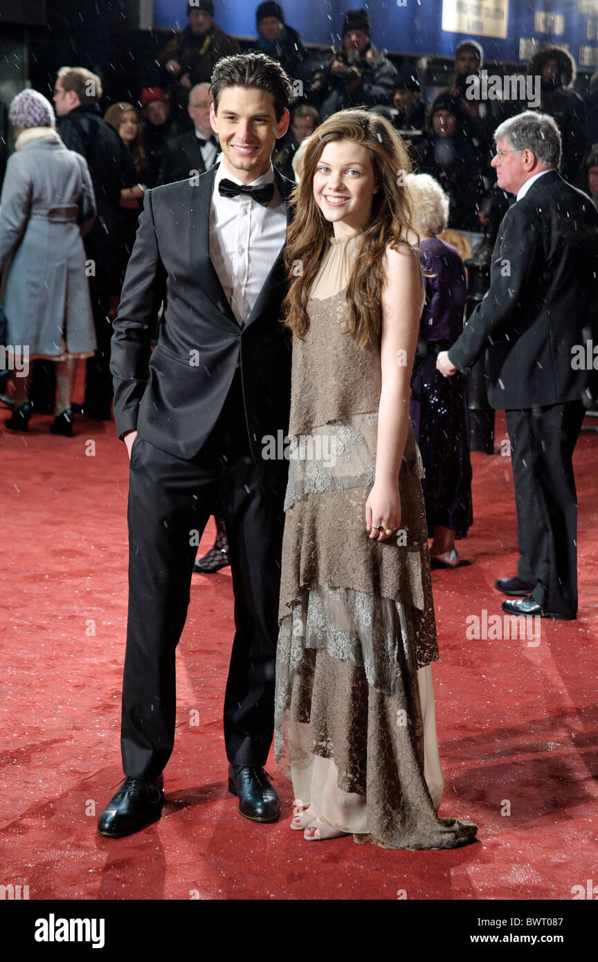 georgie henley and ben barnes attends the world premiere and royalgeorgie henley and ben barnes attends the world premiere and royal film performance of the chronicles of narnia the voyage of t