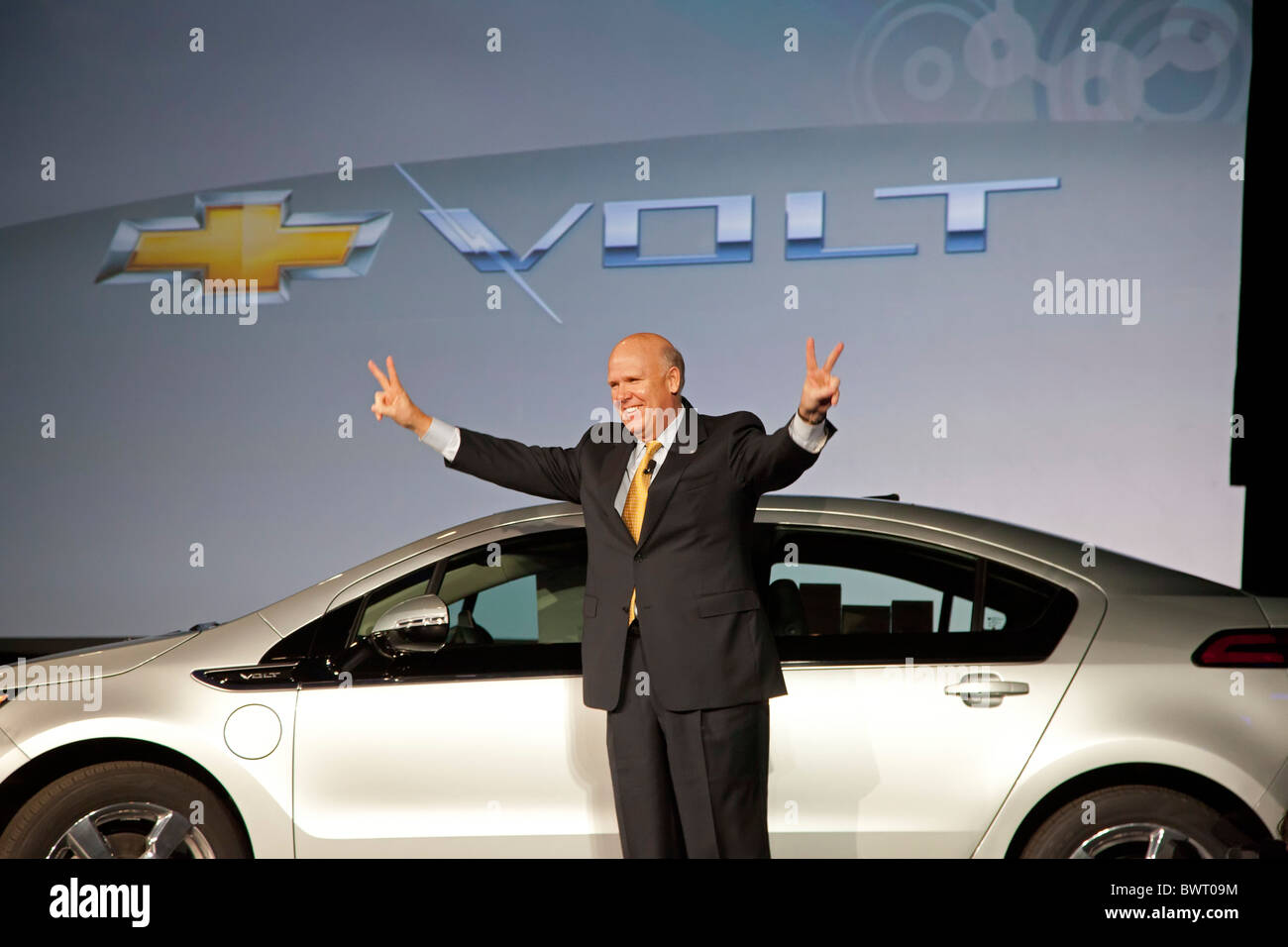 General Motors CEO Dan Akerson - Stock Image