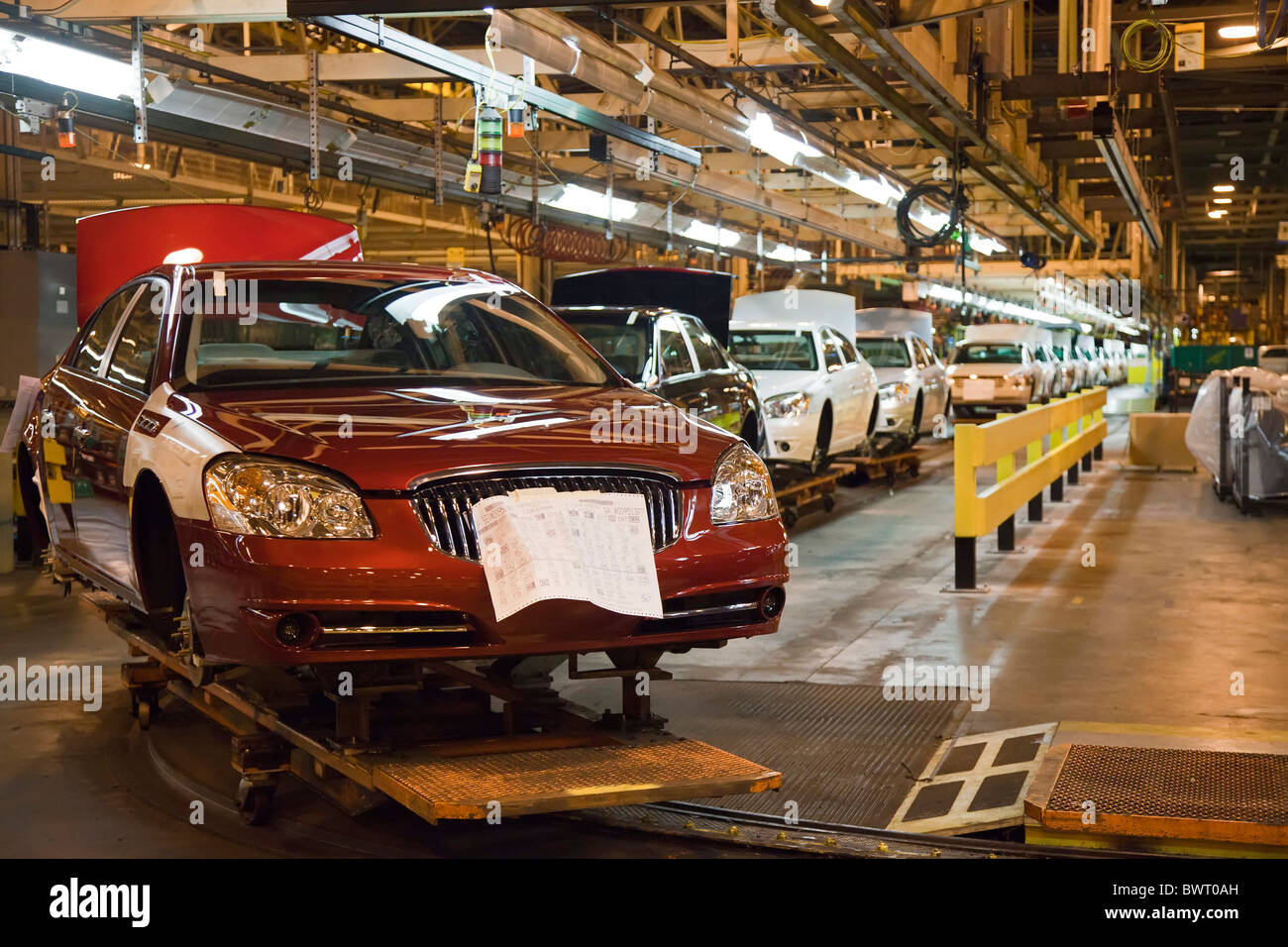 General Motors Assembly Plant Stock Photo