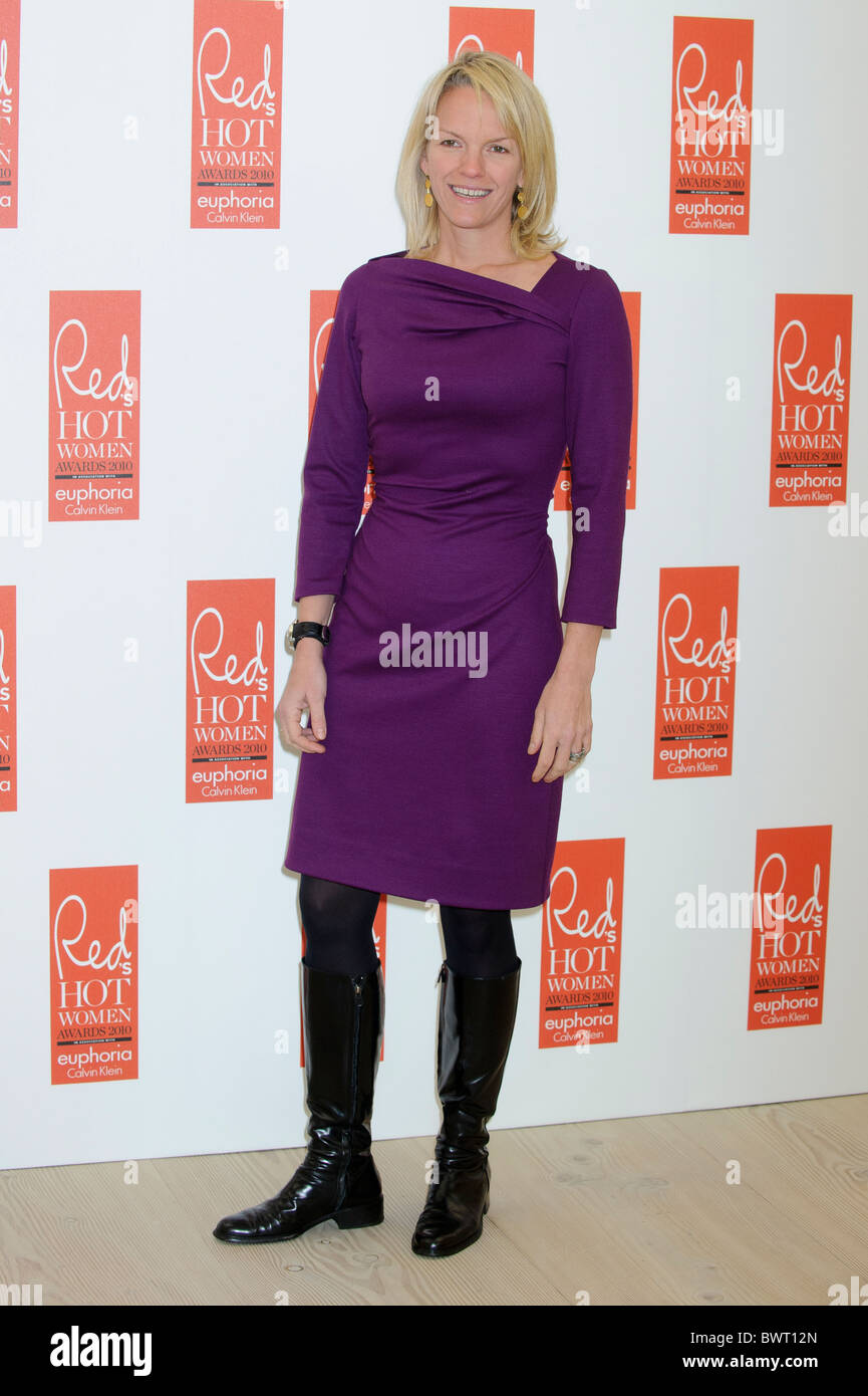 Elisabeth Murdoch attends the Red Hot Women Awards, Saatchi Gallery, London, 30th November 2010. - Stock Image