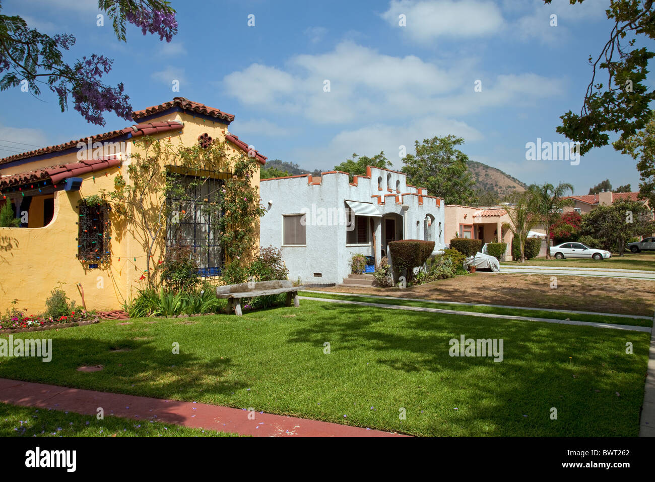 Atwater Village, Los Angeles, California, USA   Stock Image