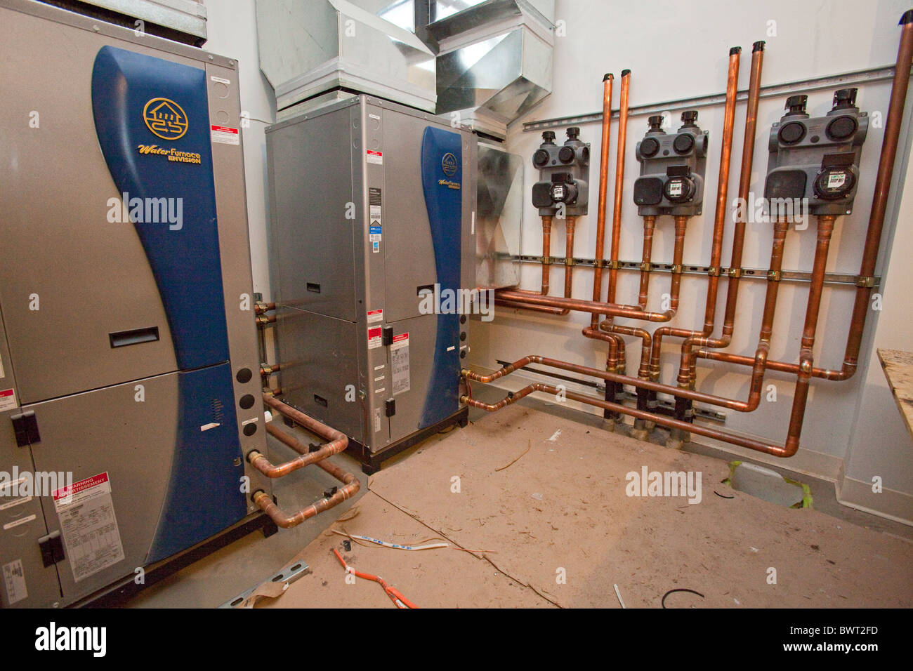 Geothermal Heat Pump In New Residential Construction