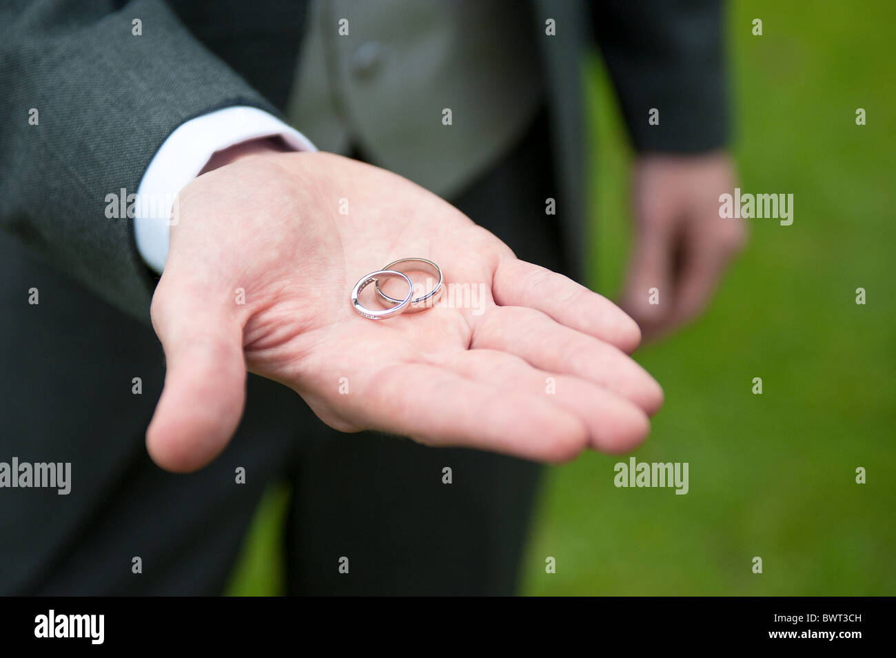 Rings In Hand Stock Photos & Rings In Hand Stock Images - Alamy