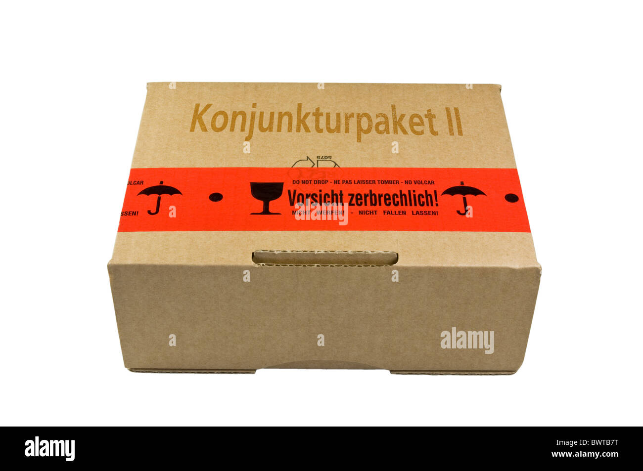 Package Konjunkturpaket II Stock Photo