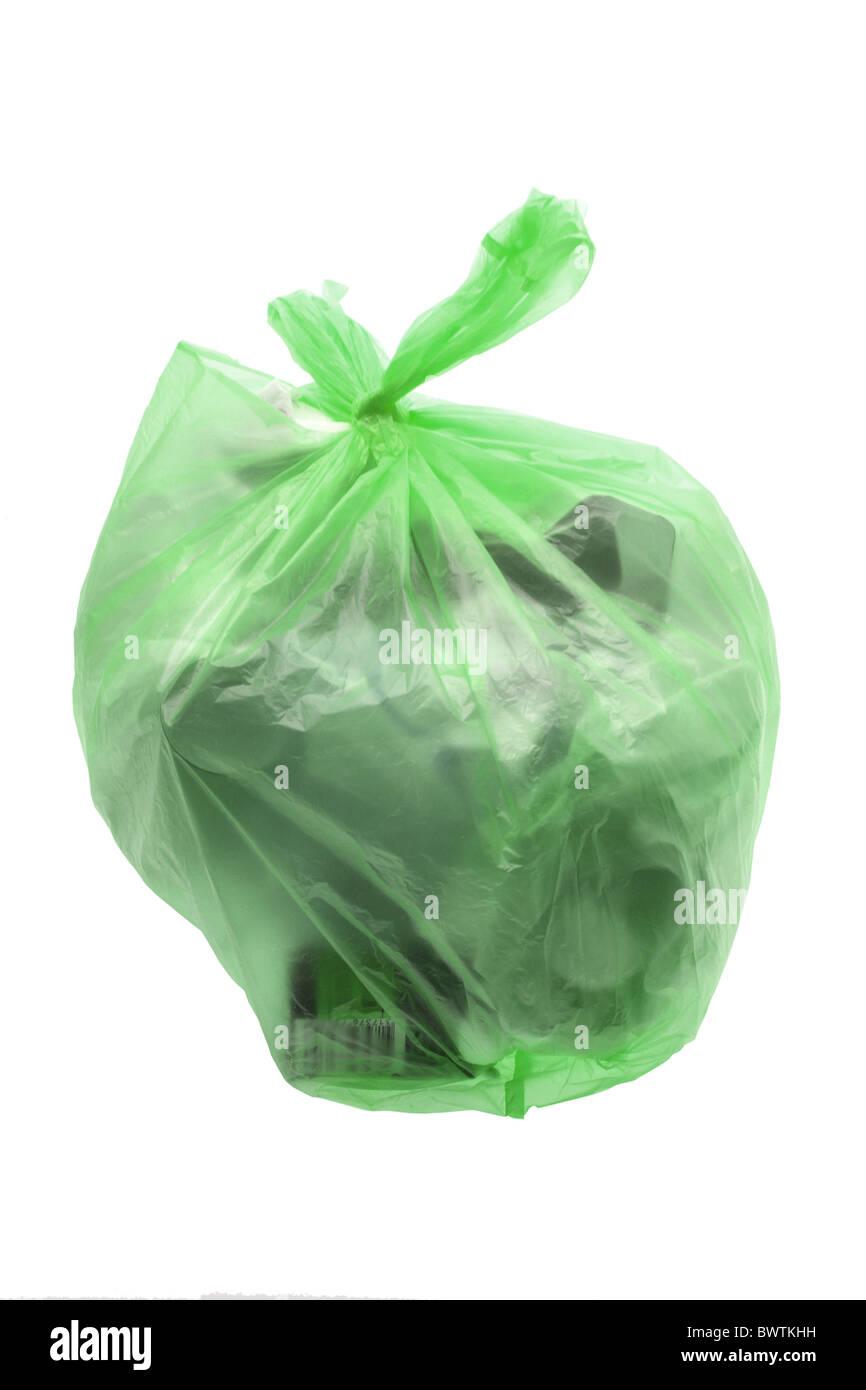 Bag of Garbage - Stock Image