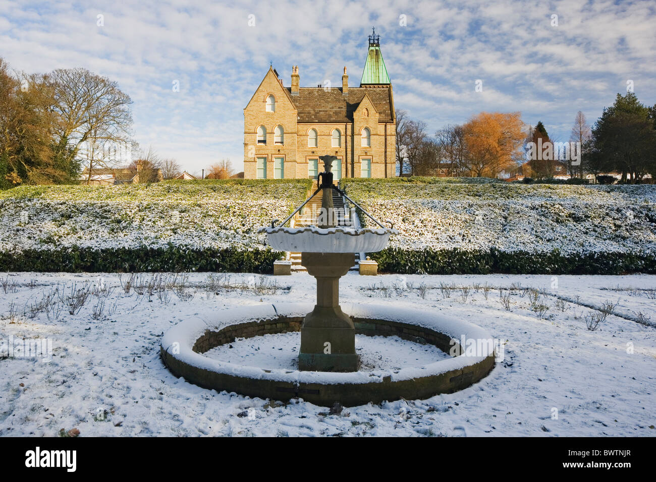 The Bagshaw Museum at Wilton Park Batley West Yorkshire U K