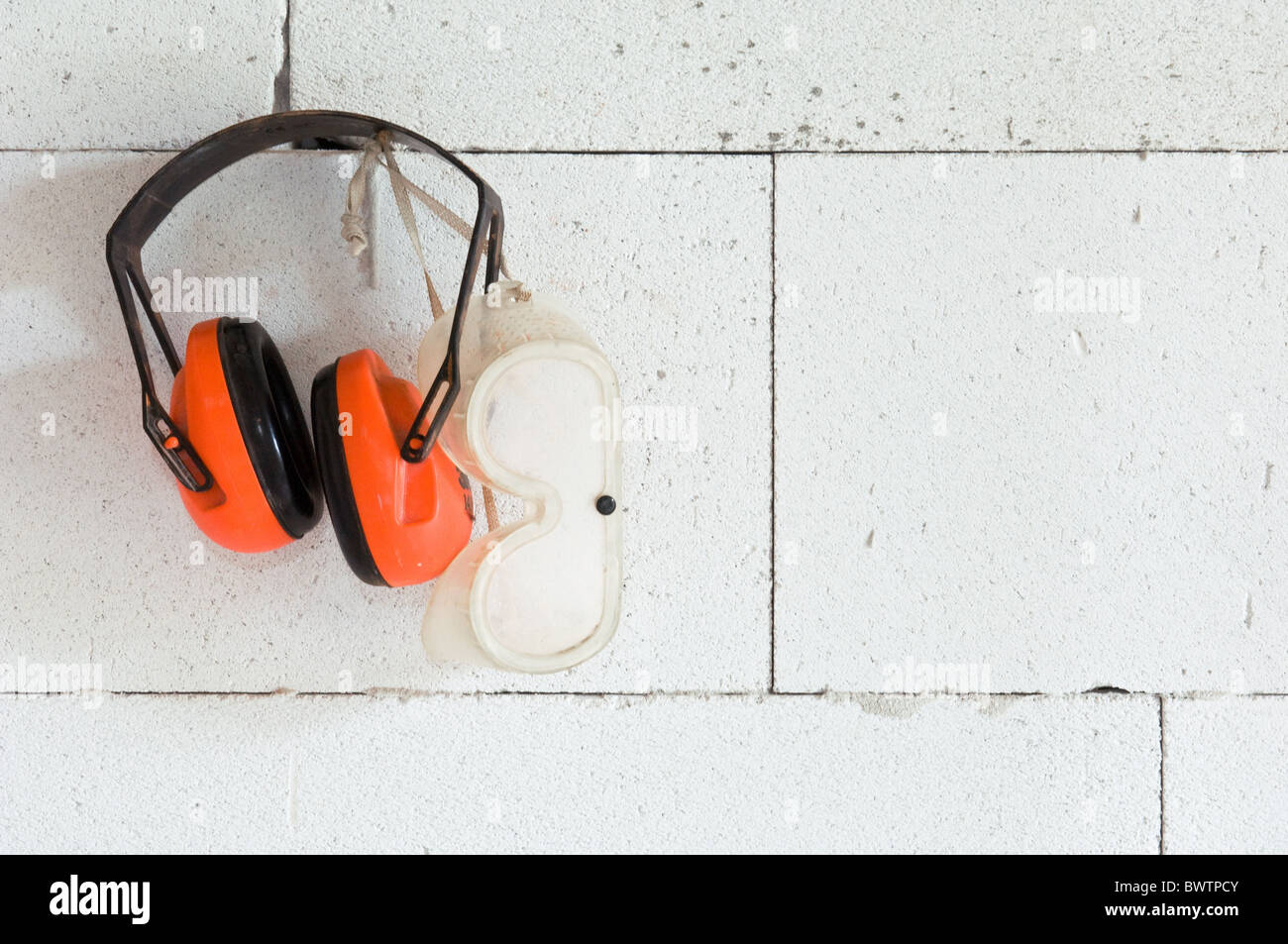 Protection equipment - Stock Image