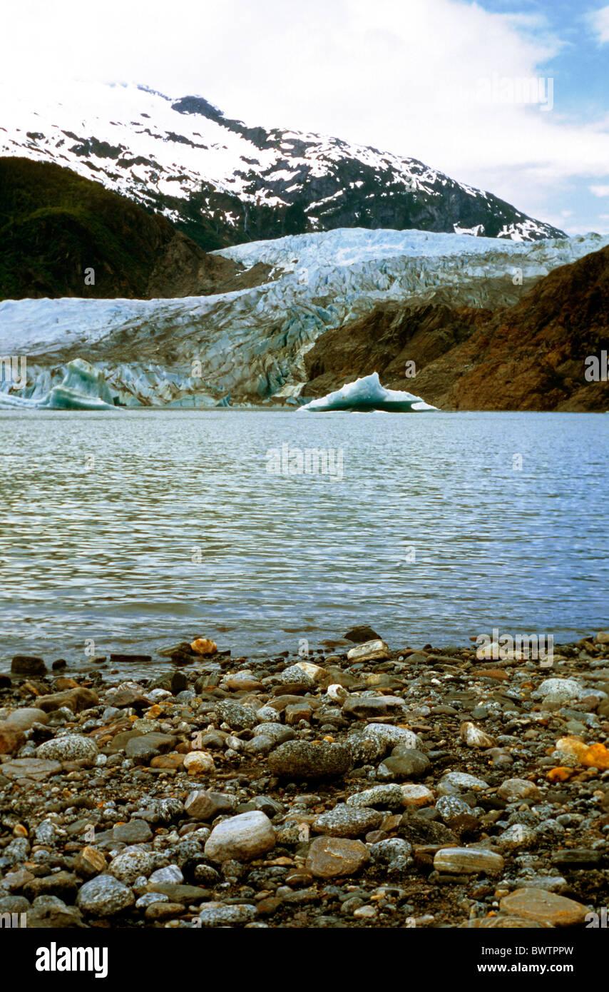 Mendenhall Glacier - Stock Image