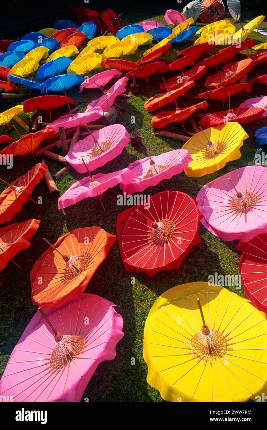 Asia Thailand Northern Thailand Asia Chiang Mai Bo Sang Borsang