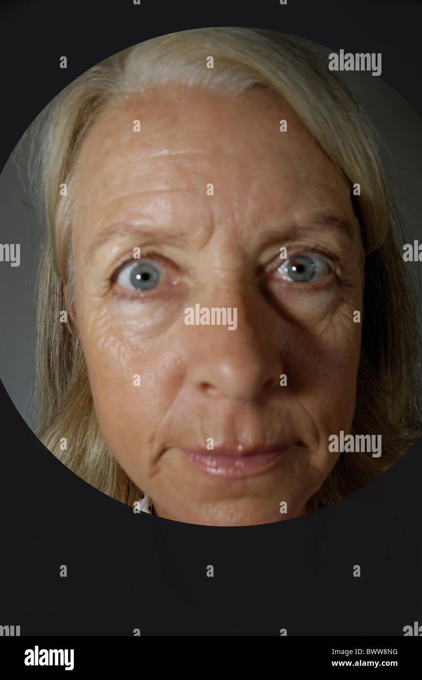 Granny facial younger