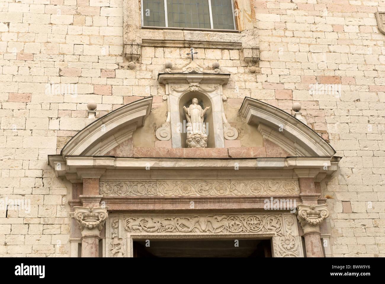 Chiesa di Santa Maria Maggiore Spello - Stock Image