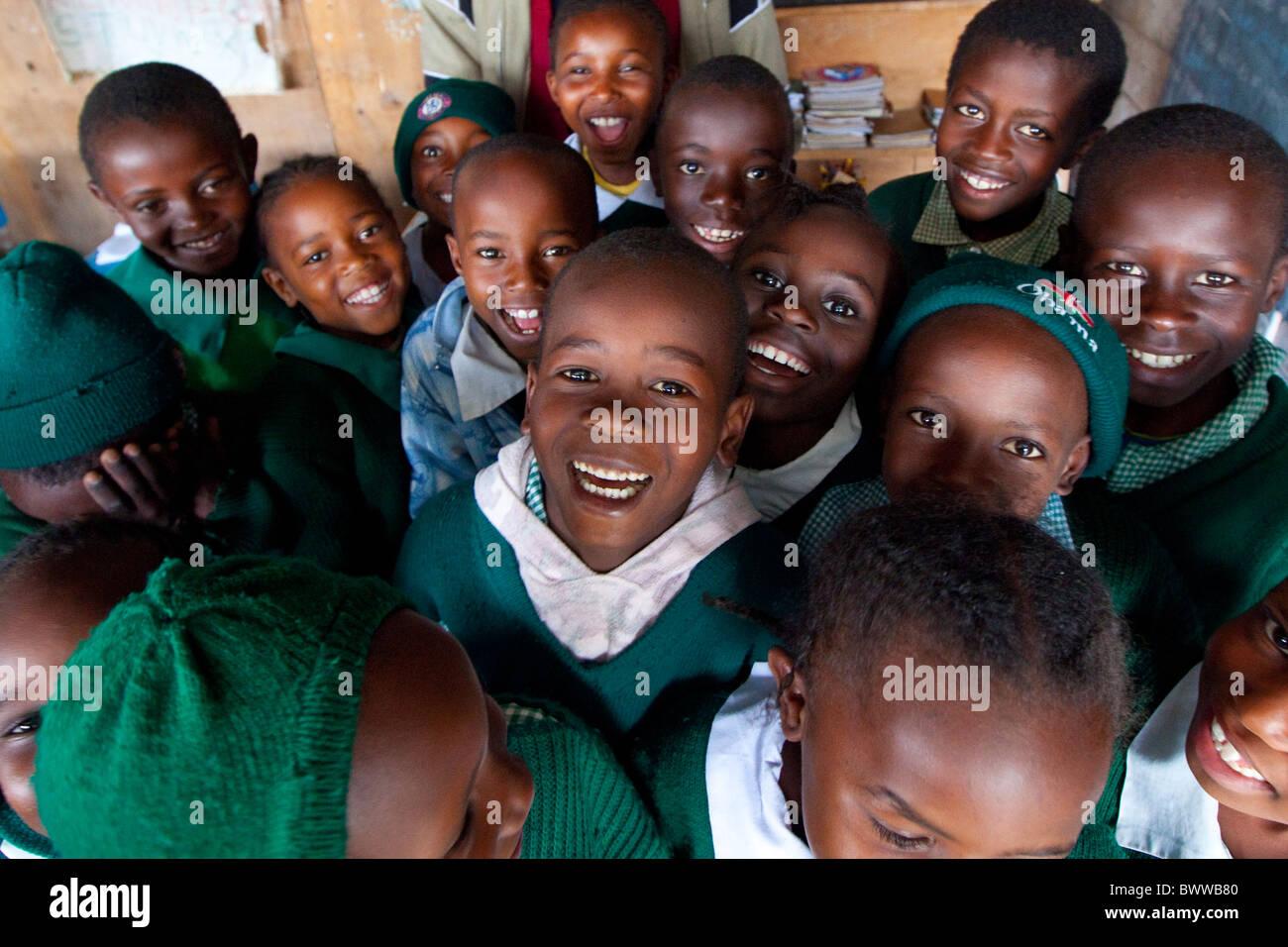 Maji Mazuri Centre and School, Nairobi, Kenya - Stock Image