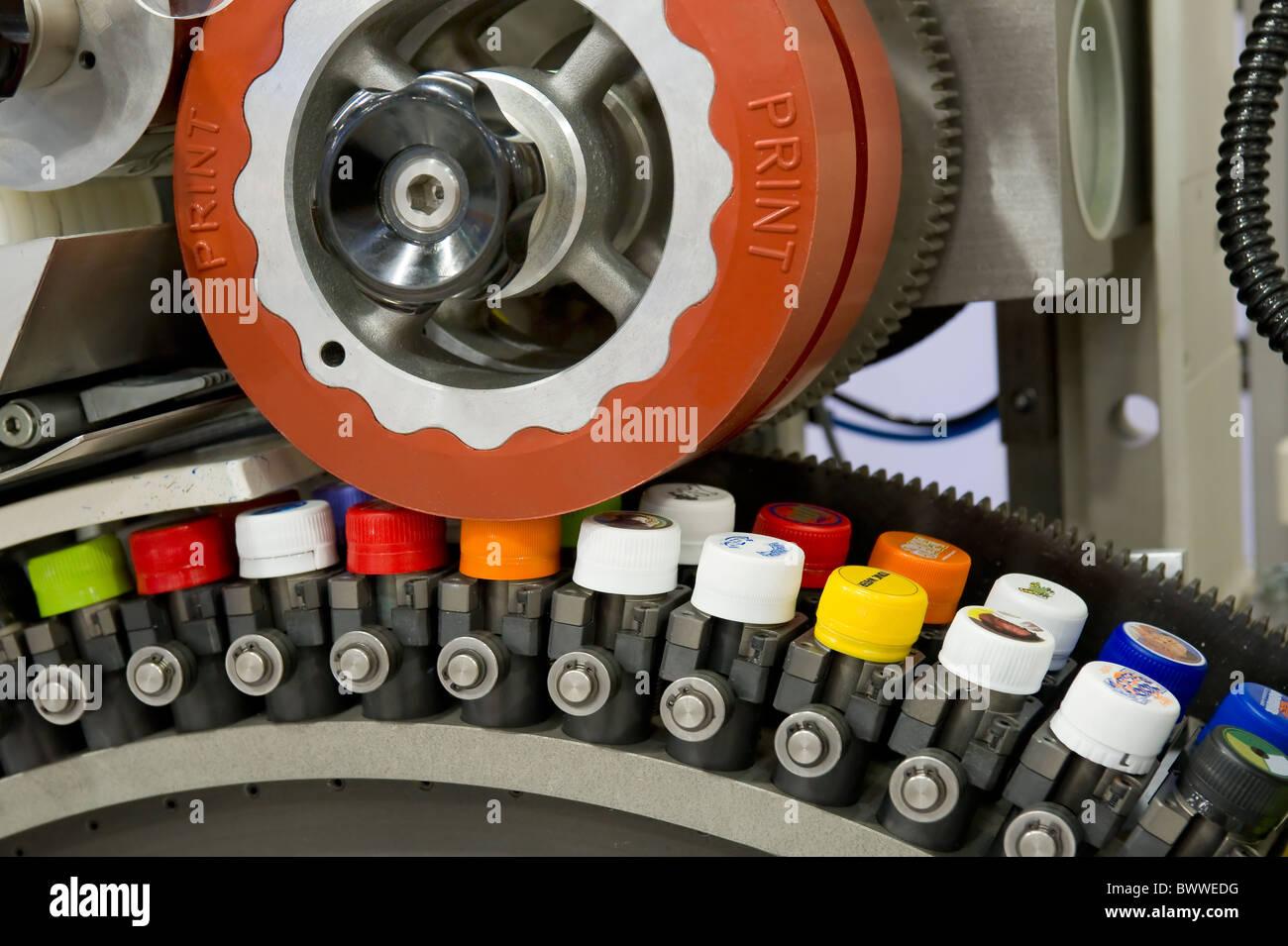 Tampondruckmaschine Pad printing machine - Stock Image