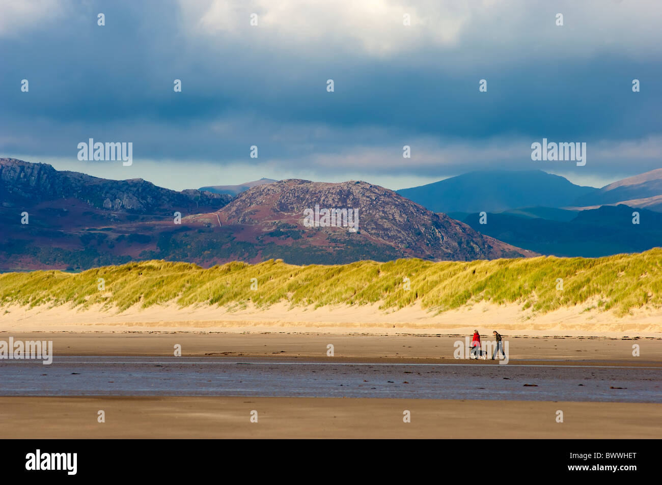 Harlech Beach North Wales