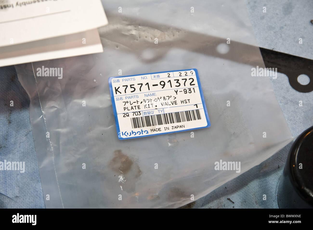 plastic plastics bag bags plate kit valve HST spare part spare parts ...