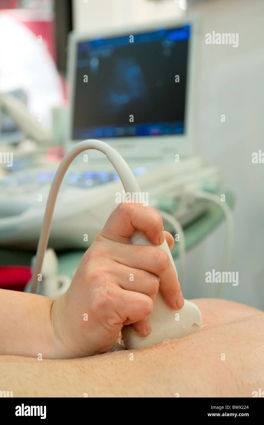 Ultrasound scan Stock Photo