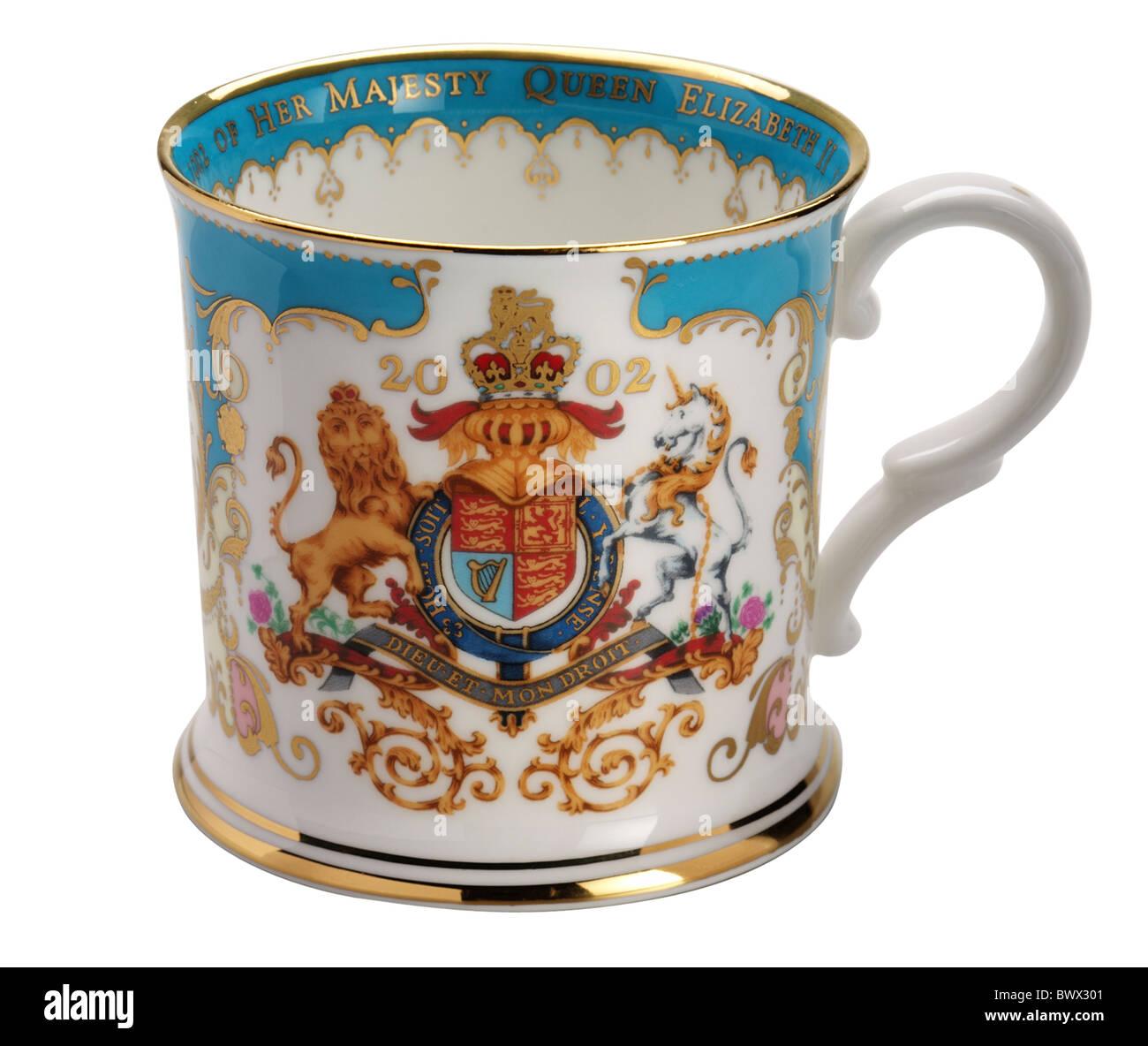 Queen Elizabeth Golden Jubilee - Stock Image