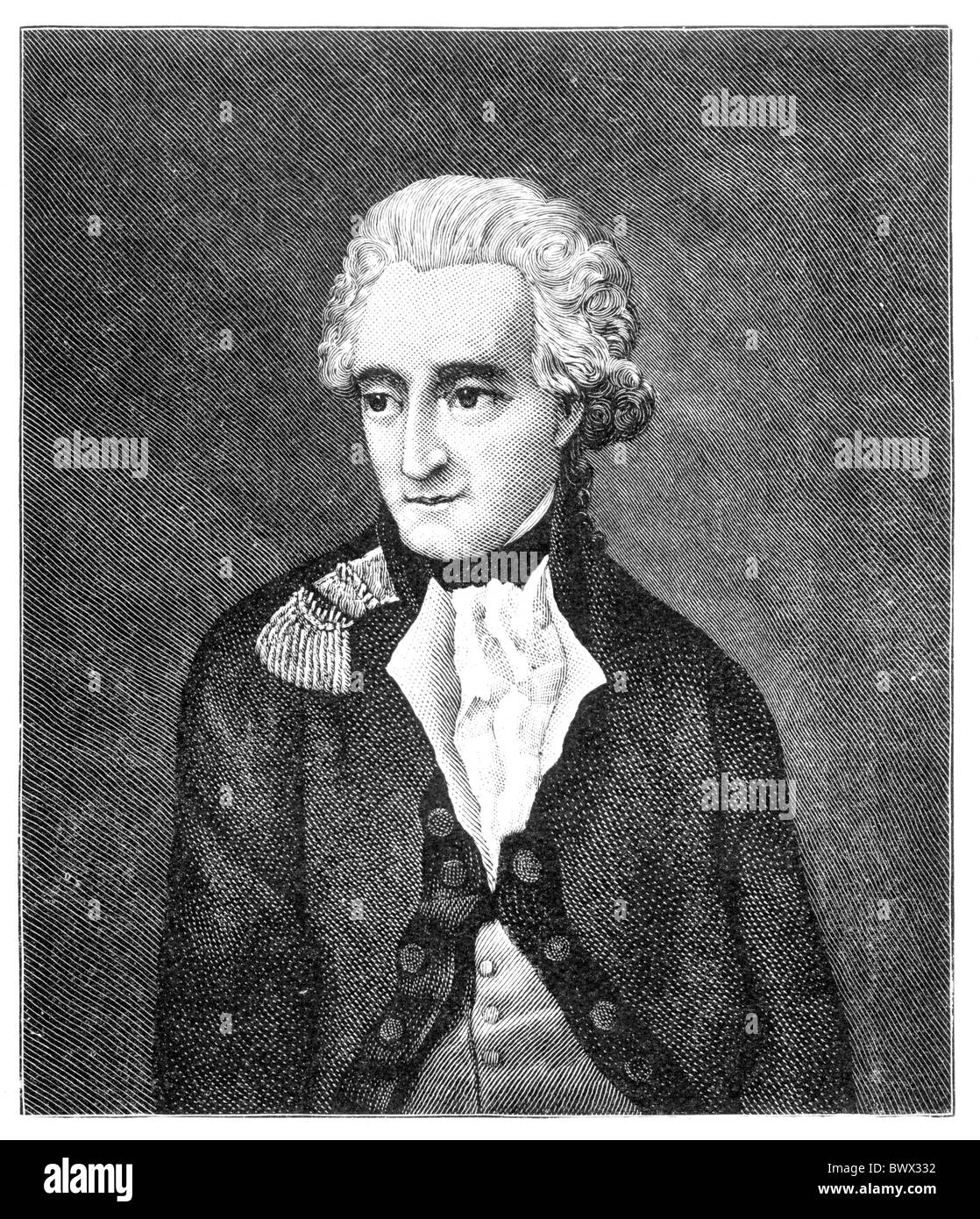 Henry Grattan 1746 - 1820; Member of the Irish House of Commons and a campaigner for legislative freedom for Ireland Stock Photo
