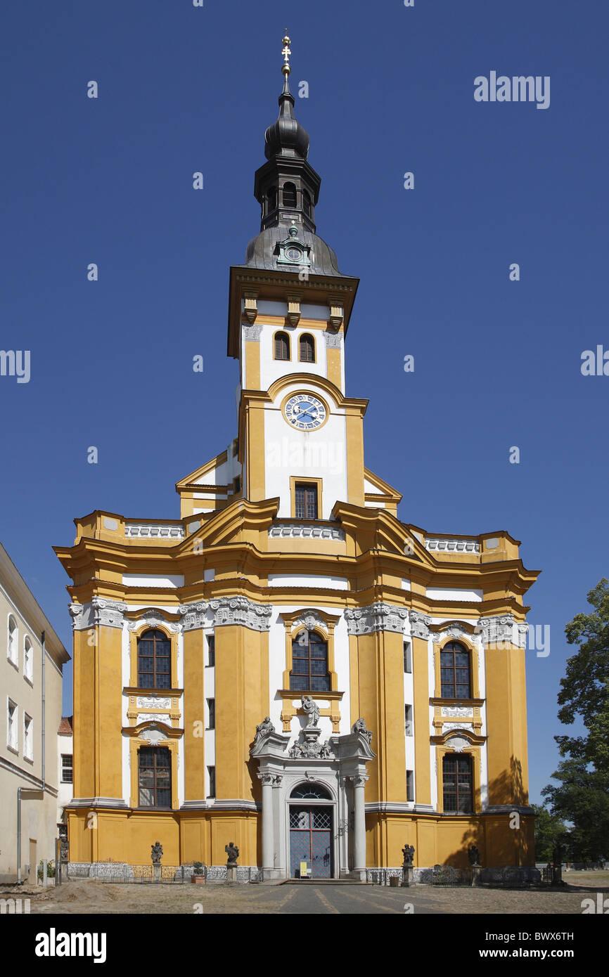 Kloster Neuzelle Klosterkirche St Marien Monastery Abbey Church - Stock Image