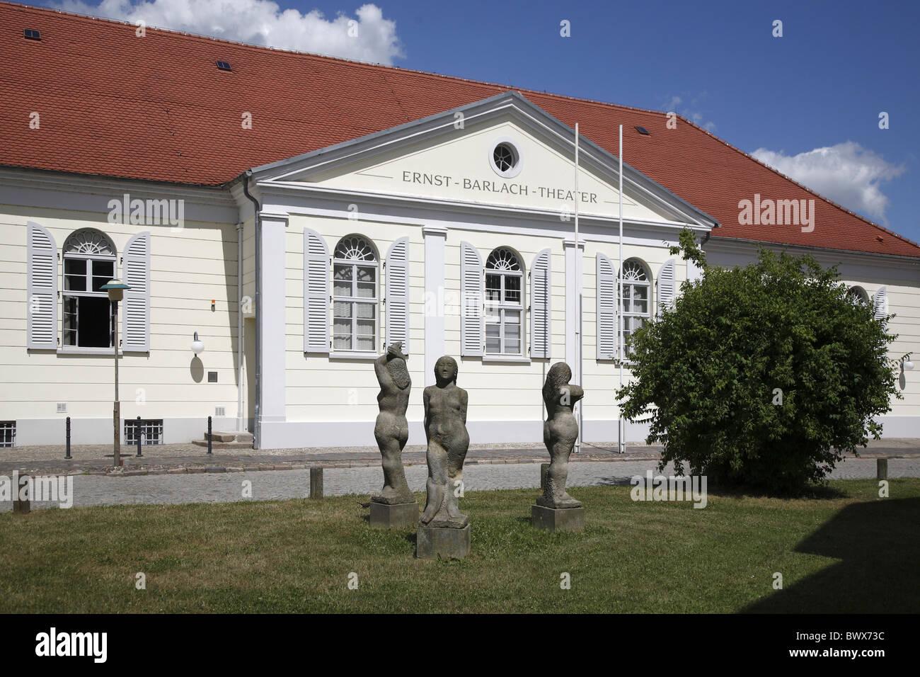 Güstrow Ernst Barlach Theater - Stock Image