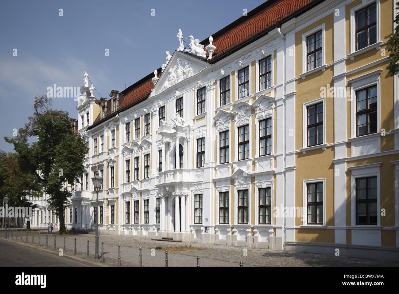Magdeburg Magdeburg Landtag - Stock Image