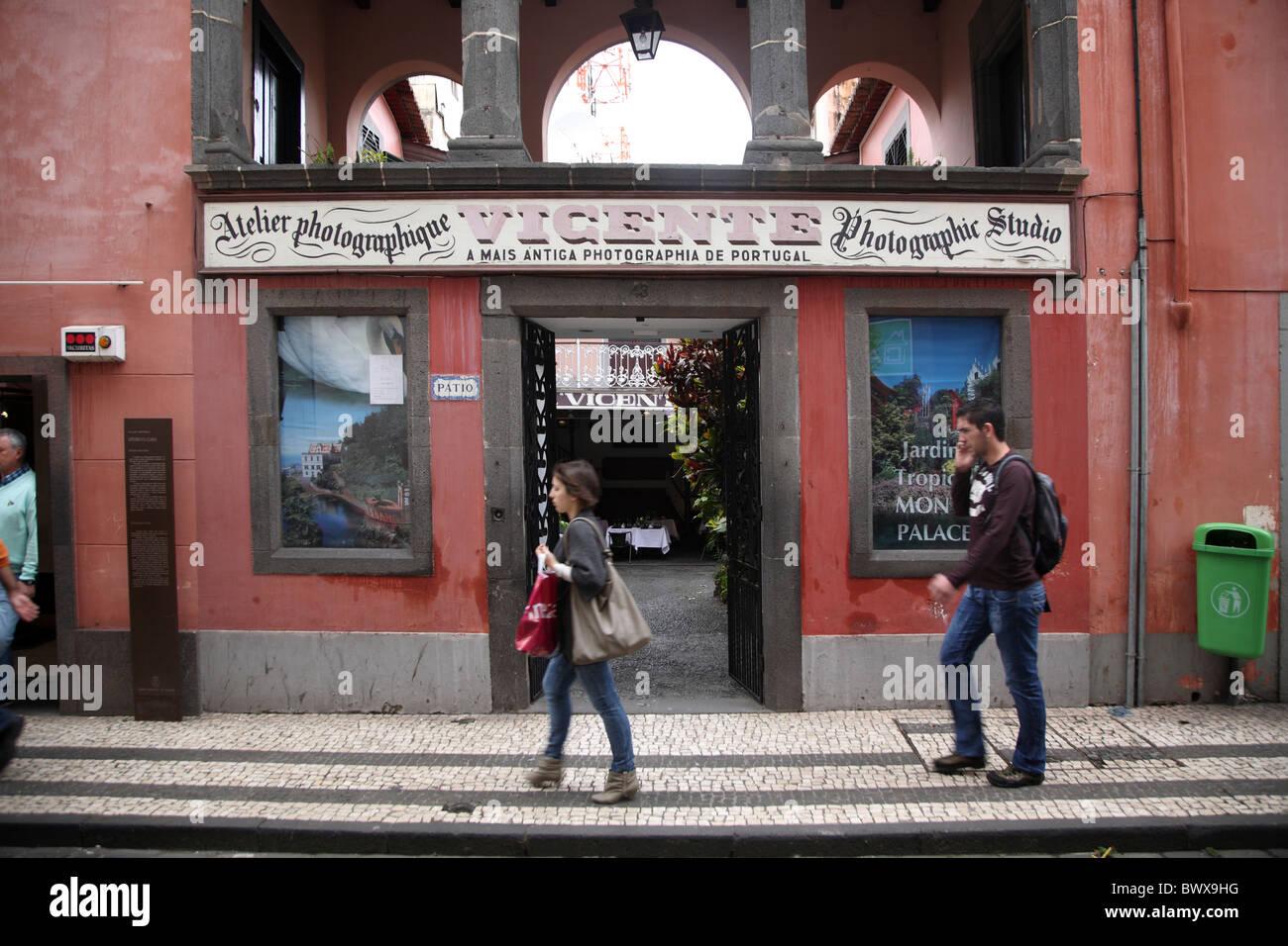 Portugal Madeira Funchal Museu Photographia - Stock Image