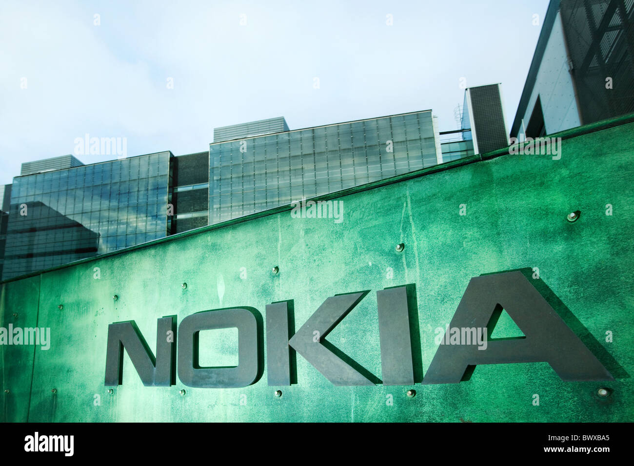 Nokia office in Helsinki, Finland - Stock Image