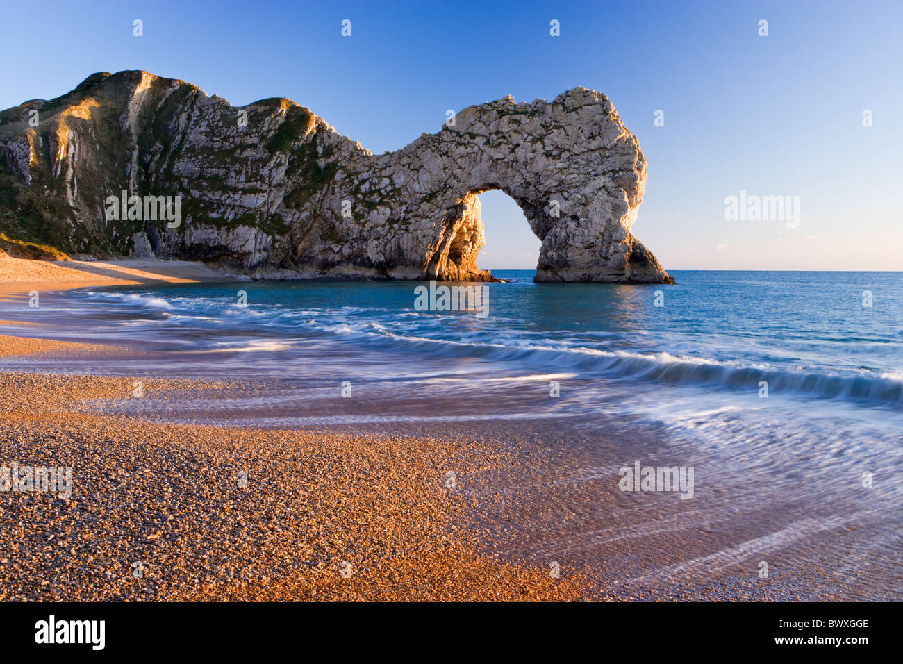 Durdle Door, Dorset, UK - Stock Image