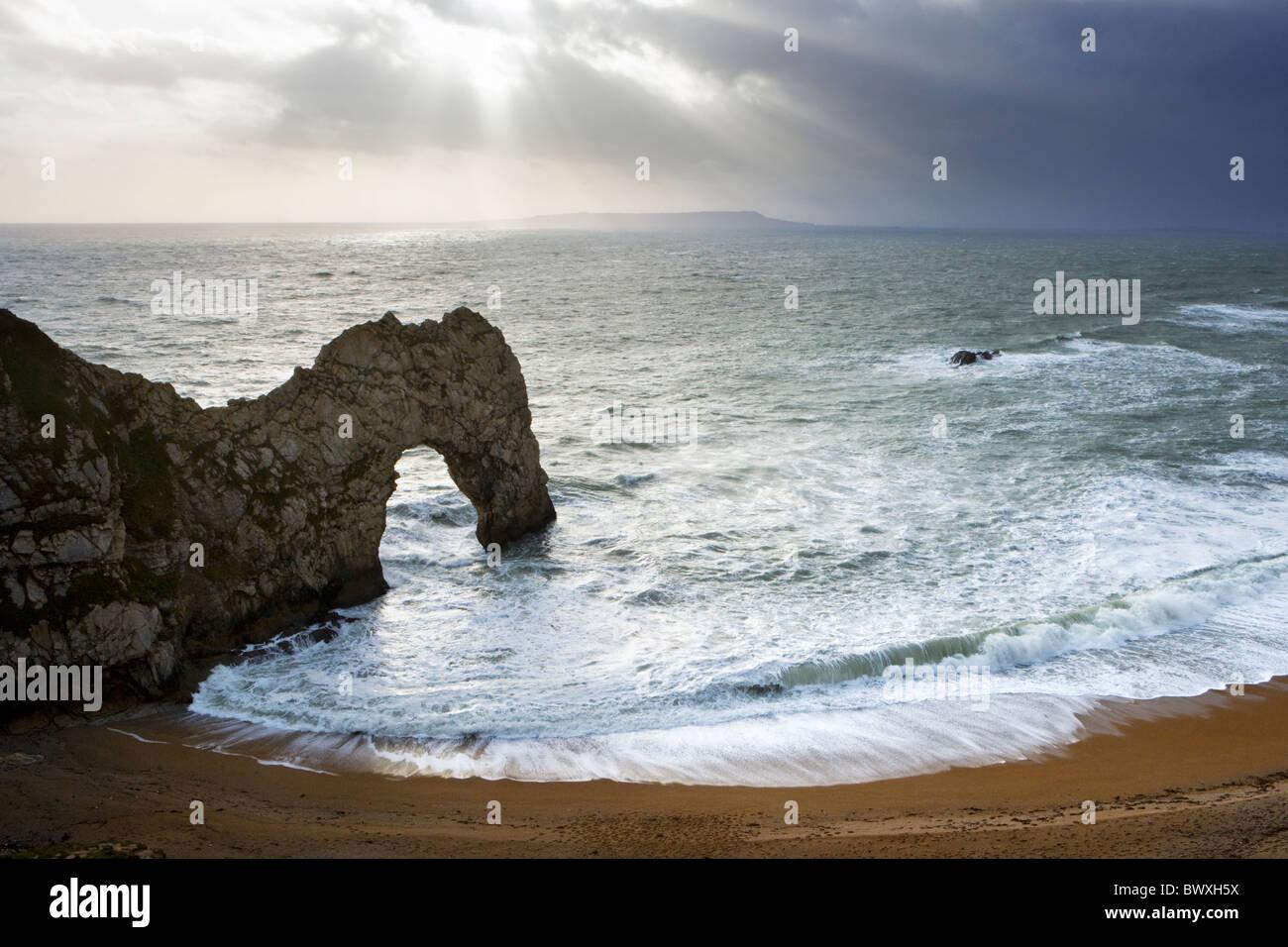 Durdle Door, Dorset, UK - Stock Image
