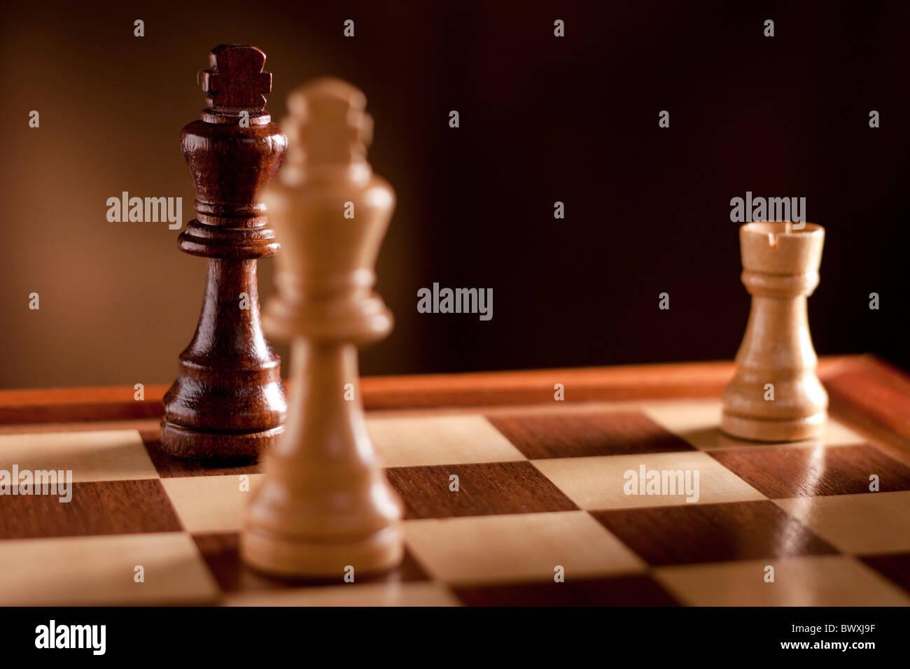 Chess, Checkmate - Stock Image