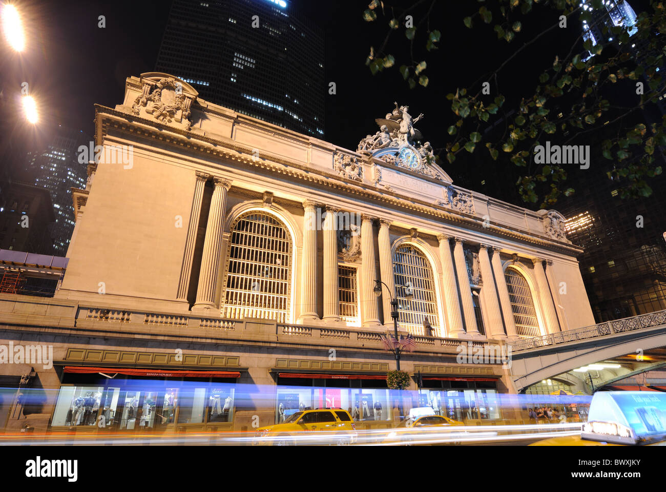 Grand Central Terminal at 42nd Street in New York, New York, USA. Stock Photo