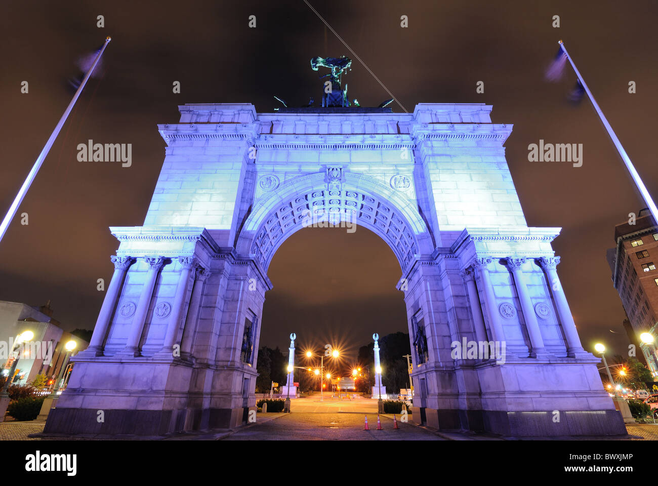 Soldiers' and Sailors' Arch in Prospect Park, Brooklyn, New York, USA. - Stock Image