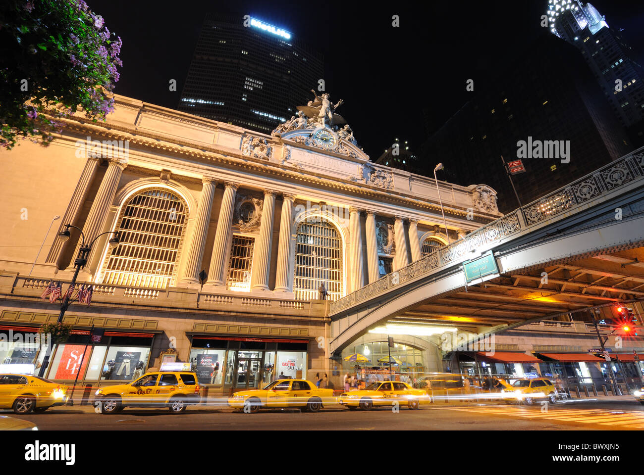 Grand Central Terminal at 42nd Street in New York, New York, USA. - Stock Image