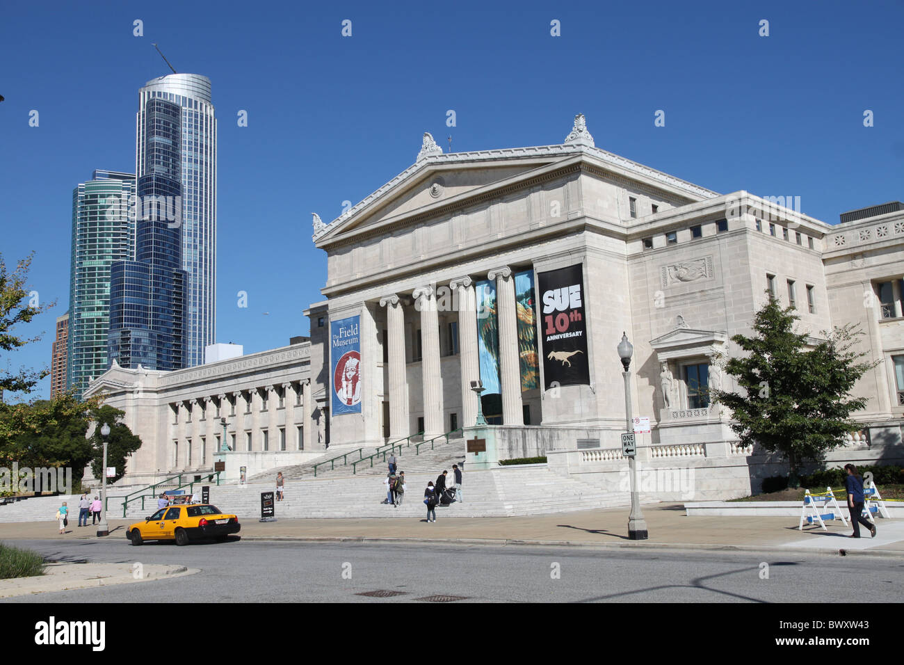 Field Museum of Natural History, Chicago - Stock Image