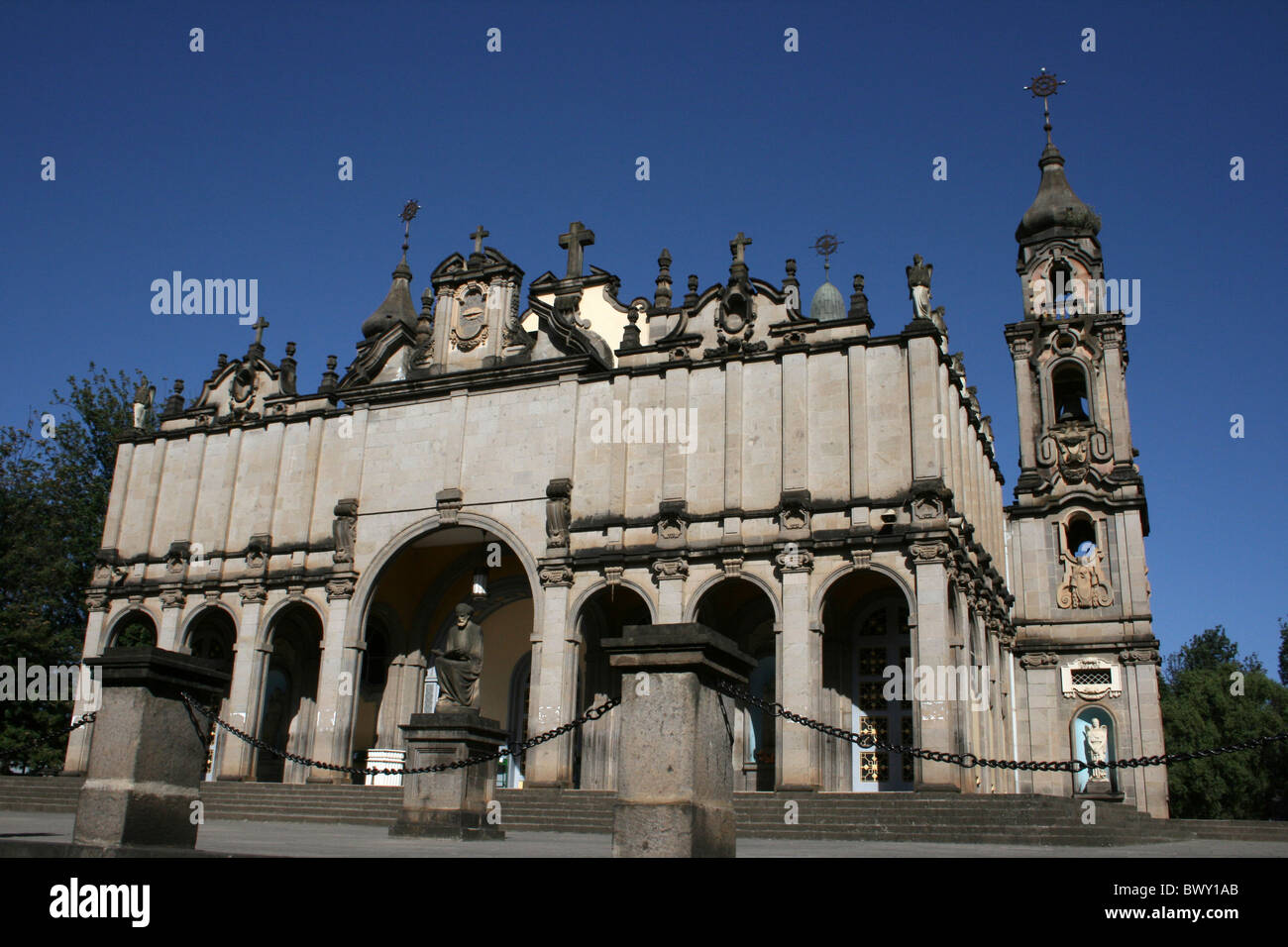 Holy Trinity Cathedral, Addis Ababa, Ethiopia - Stock Image